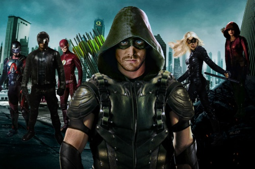 Arrow season 5 broadcast