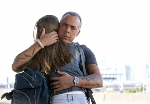 Titus Welliver and Madison Lintz in Bosch (2014)