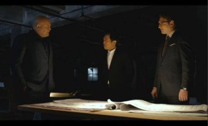 as Nobu with Vincent D'Onofrio & Toby Leonard Moore in Marvel's Daredevil