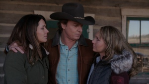 Chris Potter and Amber Marshall in Heartland (2007)