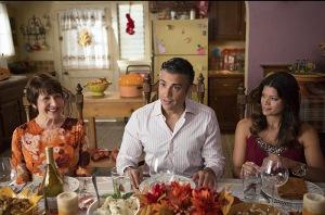 Jaime Camil, Ivonne Coll, and Andrea Navedo in Jane the Virgin (2014)