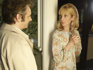 Michael Sheen and Caitlin FitzGerald in Masters of Sex (2013)