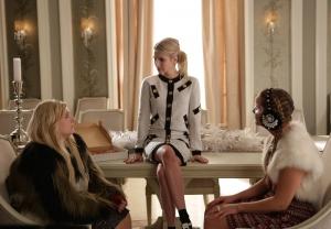Emma Roberts, Abigail Breslin, and Billie Lourd in Scream Queens (2015)
