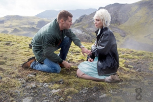 Brian J. Smith and Tuppence Middleton in Sense8 (2015)