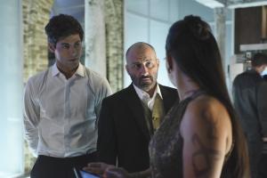 Paulino Nunes, Nicola Correia-Damude, and Matthew Daddario in Shadowhunters: The Mortal Instruments (2016)