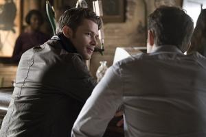 Joseph Morgan and Paul Wesley in The Vampire Diaries (2009)