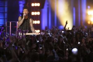 Adam Levine in The Voice (2011)