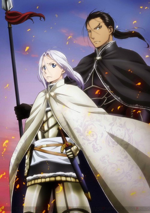 Arslan Senki is to be renewed for season 3