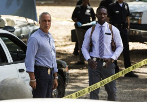 Jamie Hector and Titus Welliver in Bosch (2014)