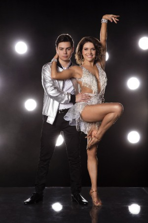 Jake T. Austin and Jenna Johnson in Dancing with the Stars (2005)