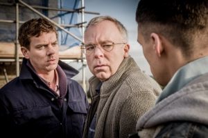 Steve Pemberton, Joe Armstrong, and Adam Long in Happy Valley (2014)