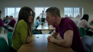 Shirley Henderson and James Norton in Happy Valley (2014)