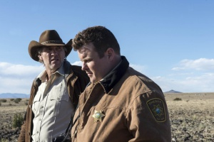 Robert Taylor and Adam Bartley in Longmire (2012)
