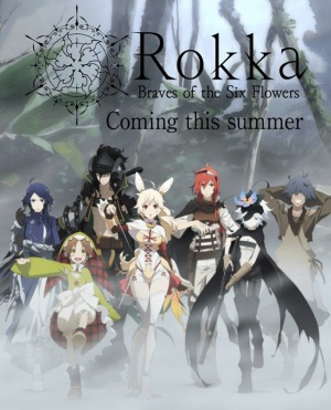 Rokka no Yuusha is to be renewed for season 2