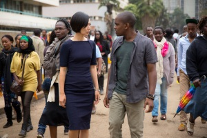 Doona Bae and Aml Ameen in Sense8 (2015)