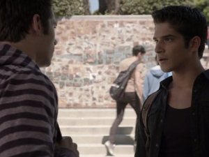 Tyler Posey and Dylan O'Brien in Teen Wolf (2011)