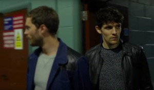 Jamie Dornan and Colin Morgan in The Fall (2013)