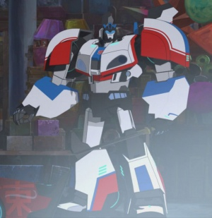 Arif S. Kinchen in Transformers: Robots in Disguise (2015)