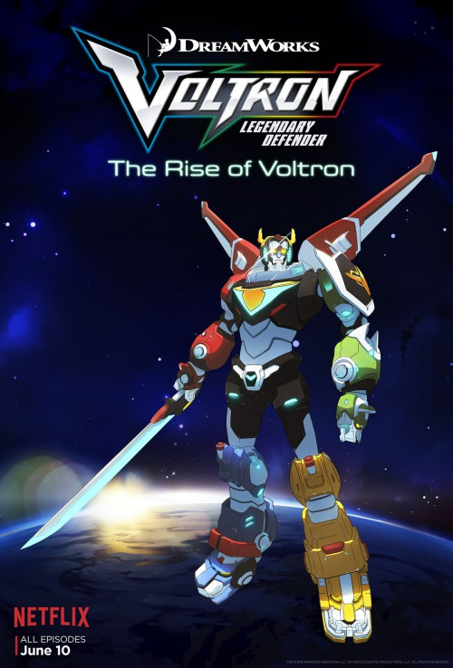 Voltron: Legendary Defender is to be renewed for season 3